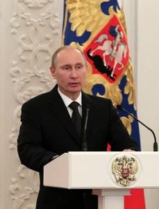 Владимир Путин поздравил граждан России с общенациональным праздником