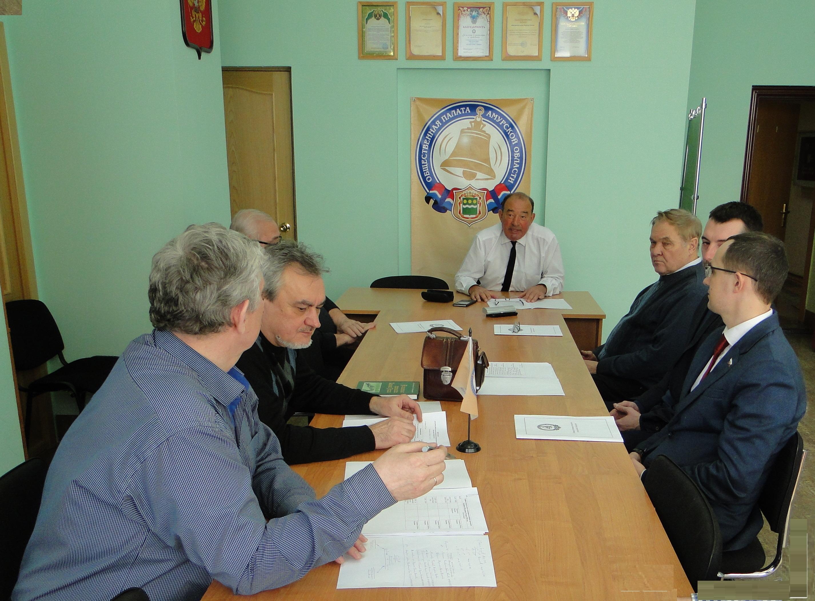 Очередное заседание членов рабочей группы по мониторингу реализации избирательных прав граждан Амурской области Общественной палаты Амурской области