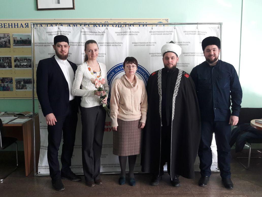 Встреча с председателем Духовного управления мусульман Дальнего Востока, полномочным представителем Верховного муфтия России на Дальнем Востоке