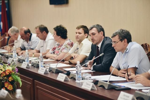 Заседание Общественного совета при министерстве жилищно-коммунального хозяйства