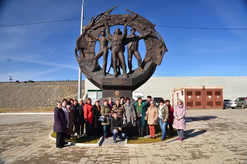 Экскурсия пенсионеров Амурской области  на космодром Восточный состоялась