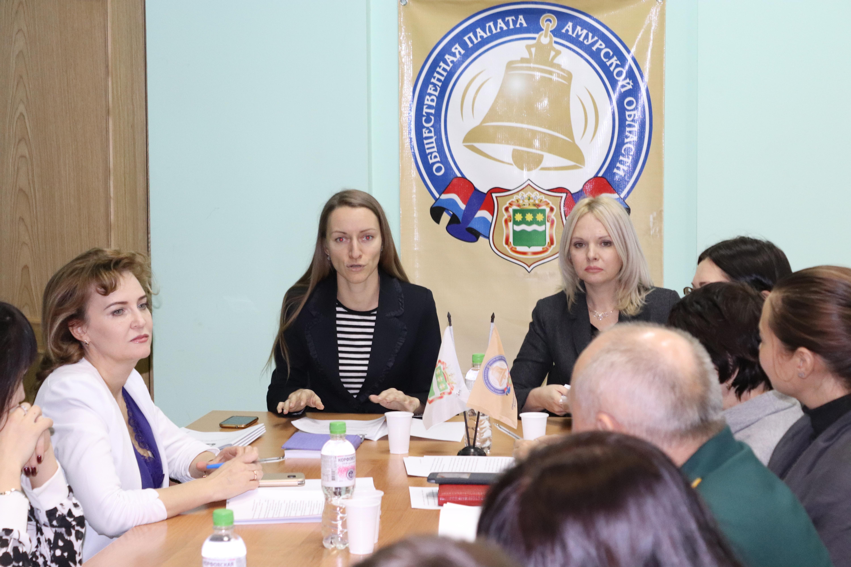 В Общественной палате Амурской области обсудили планы в сфере национальной политики