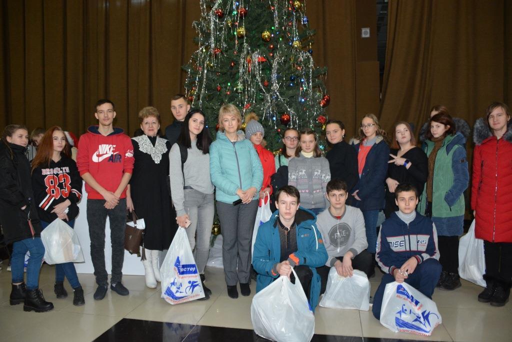 О реализации благотворительной программы «Новогодний подарок»