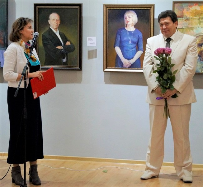 Персональная юбилейная выставка Евгения Зверева «Персона — 55»