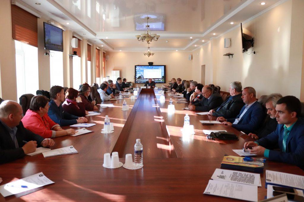 Состоялось заседание Координационного совета по вопросу общественного контроля за ремонтом дорог