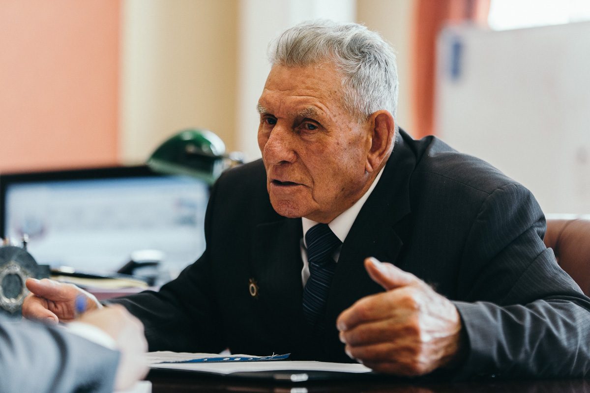 Почетный житель Ивановского района Георгий Ус отмечает 95-летие