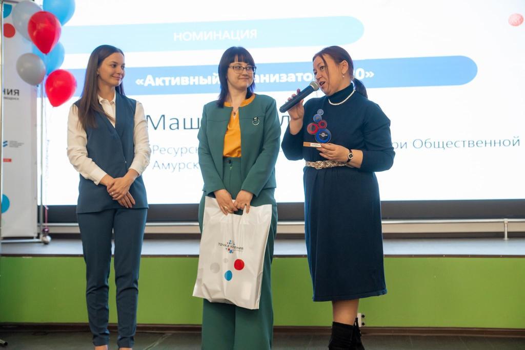 Ресурсный центр поддержки НКО стал победителем в номинации «Активный организатор 2020» в пространстве коллективной работы «Точка Кипения – Благовещенск»