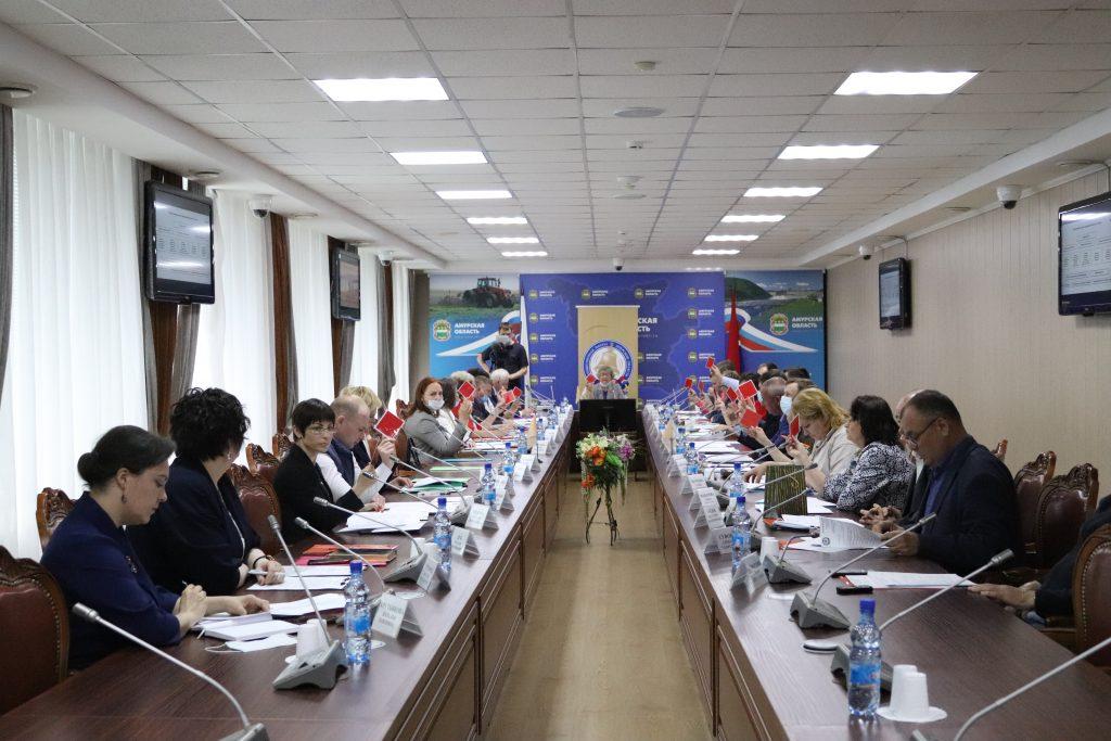 Первое заседание Общественной палаты Амурской области VI состава