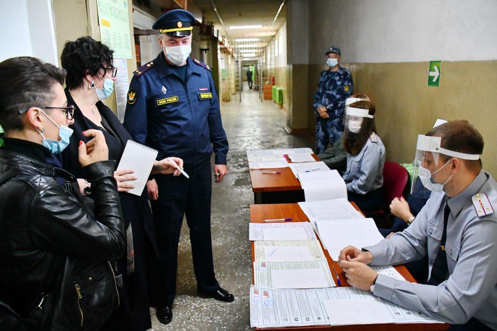 О ходе голосования в ФКУ СИЗО-1 УФСИН России по Амурской области